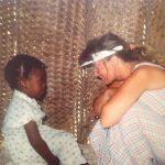 karen-in-visor-with-little-girl-in-white-dress